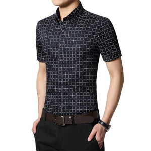 Men's Short Sleeve Casual Shirts - Casual Shirts - eDealRetail - 2