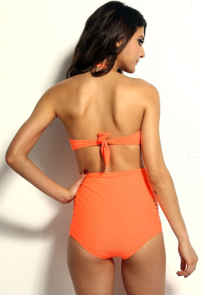 High Waisted Slit Summer Bikinis - Swimsuit - eDealRetail - 7