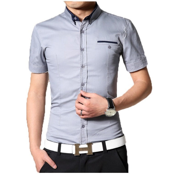 2016 Short Sleeve Designer Casual Shirts - Casual Shirts - eDealRetail - 5