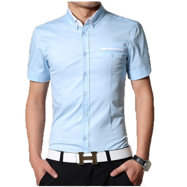 2016 Short Sleeve Designer Casual Shirts - Casual Shirts - eDealRetail - 7