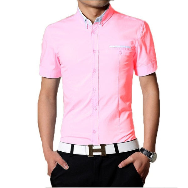 2016 Short Sleeve Designer Casual Shirts - Casual Shirts - eDealRetail - 4