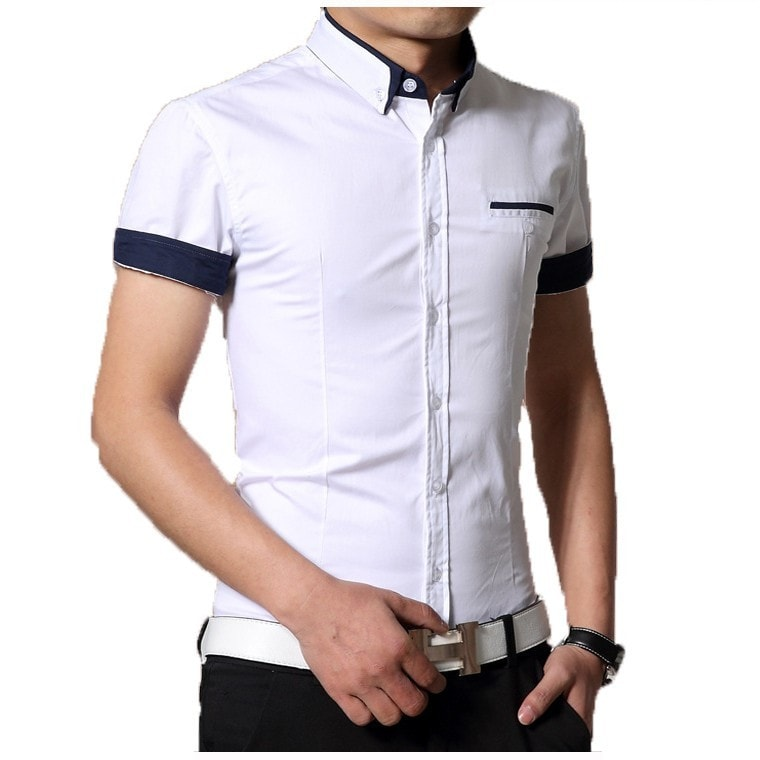 2016 Short Sleeve Designer Casual Shirts - Casual Shirts - eDealRetail - 1