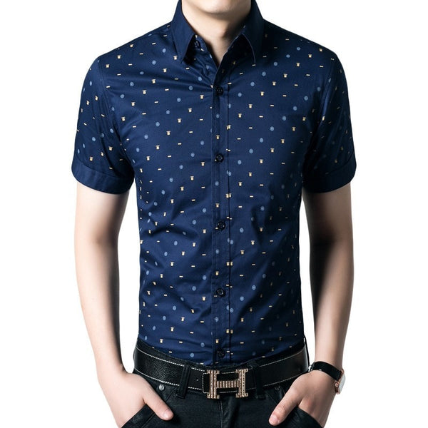 Short Sleeve Leisure Shirts For Men - Casual Shirts - eDealRetail - 2