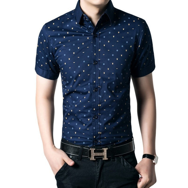 Short Sleeve Leisure Shirts For Men - Casual Shirts - eDealRetail - 3
