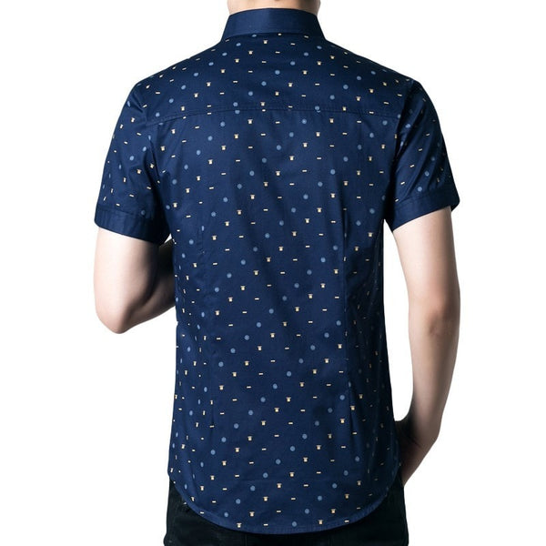 Short Sleeve Leisure Shirts For Men - Casual Shirts - eDealRetail - 4