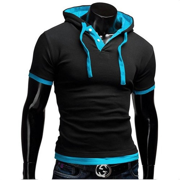 Short Sleeve Polo Hooded Shirts - HOT - Casual Shirts - eDealRetail - 8