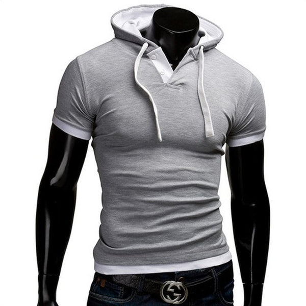 Short Sleeve Polo Hooded Shirts - HOT - Casual Shirts - eDealRetail - 6