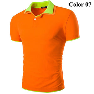 Short Sleeve Summer Polo Shirts - HOT - T-Shirts - eDealRetail - 8