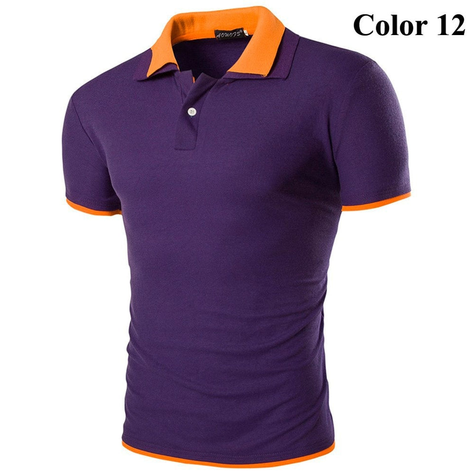 Short Sleeve Summer Polo Shirts - HOT - T-Shirts - eDealRetail - 13