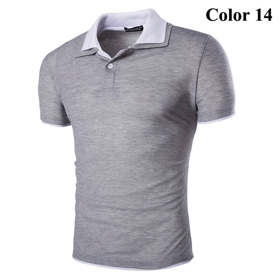 Short Sleeve Summer Polo Shirts - HOT - T-Shirts - eDealRetail - 15