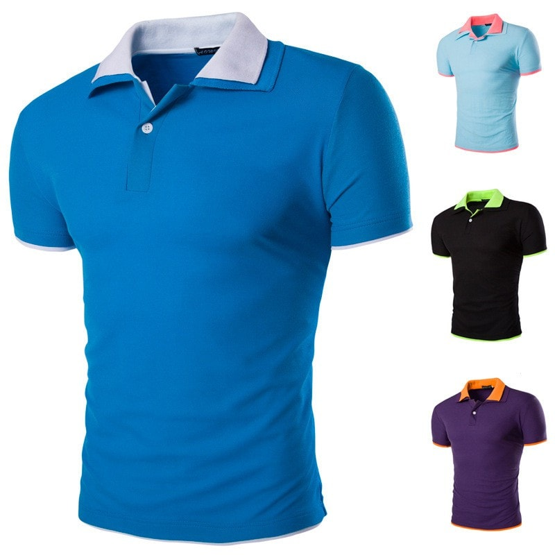 Short Sleeve Summer Polo Shirts - HOT - T-Shirts - eDealRetail - 1