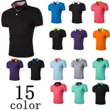 Short Sleeve Summer Polo Shirts - HOT - T-Shirts - eDealRetail - 21