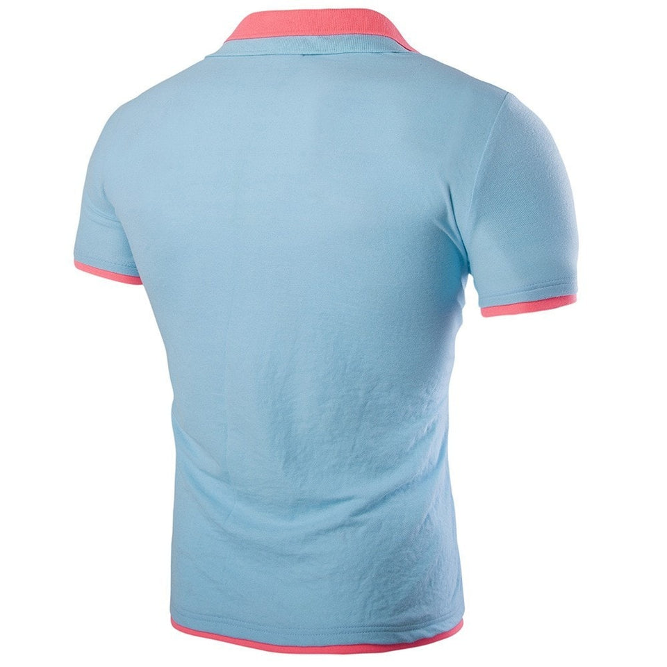 Short Sleeve Summer Polo Shirts - HOT - T-Shirts - eDealRetail - 17