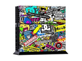 Sticker Art PS4 Skin + 2 Controller Skins - PS4 Skins - eDealRetail - 2