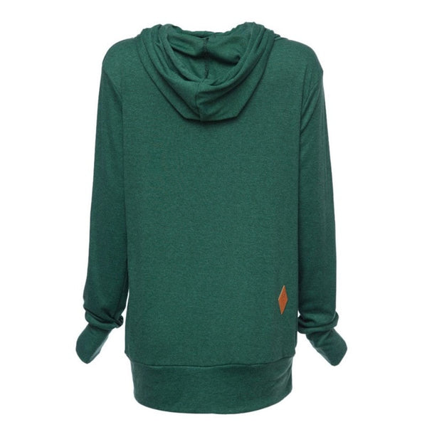 Stylish Women's Fleece Pullover Hoodies - Hoodies - eDealRetail - 10