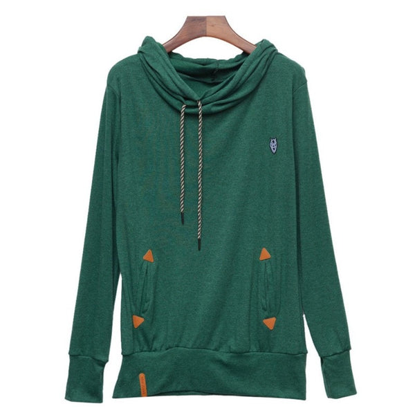 Stylish Women's Fleece Pullover Hoodies - Hoodies - eDealRetail - 11