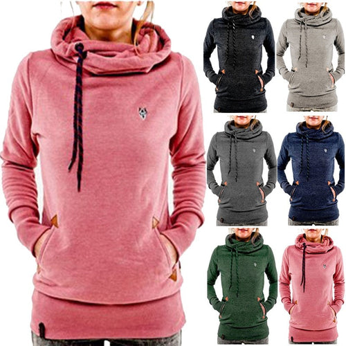 Stylish Women's Fleece Pullover Hoodies - Hoodies - eDealRetail - 1