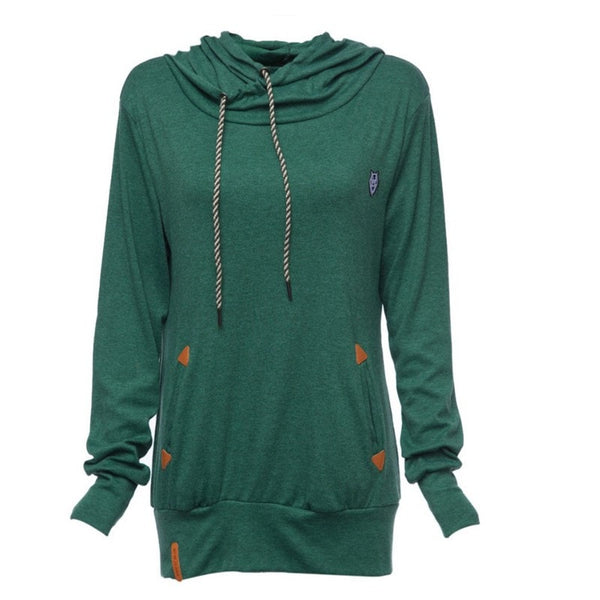 Stylish Women's Fleece Pullover Hoodies - Hoodies - eDealRetail - 9