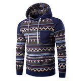 Tribal Print Pocket Raglan Hoodie - Hoodies - eDealRetail - 7