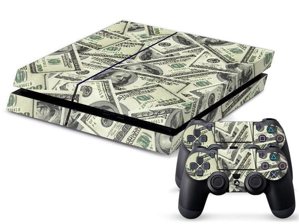US Money Currency PS4 Skin + 2 Controller Skins - PS4 Skins - eDealRetail - 1