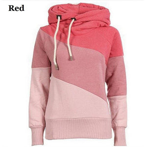 Women's Color Block Pullover Hoodies - Hoodies - eDealRetail - 2