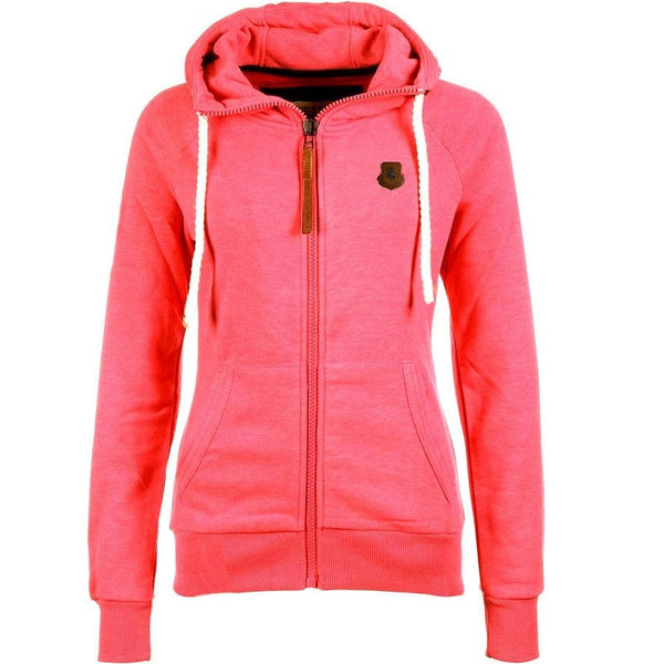 Women's Drawstring Zipper Hoodies - Hoodies - eDealRetail - 2