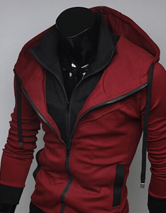 Assassin Double Layer Zip Hoodie - Hoodies - eDealRetail - 2