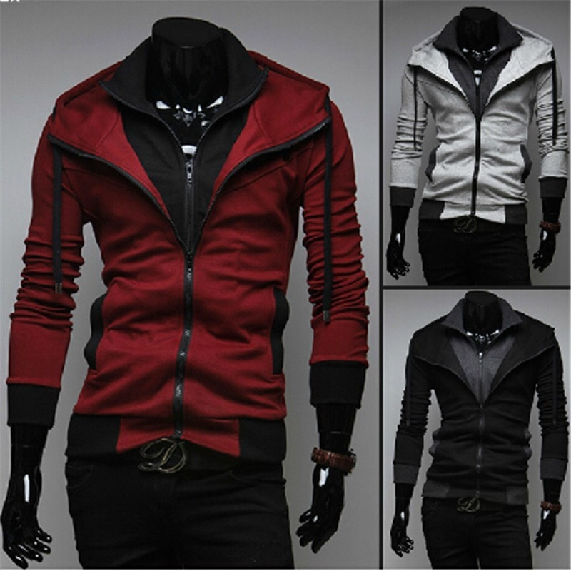 Assassin Double Layer Zip Hoodie - Hoodies - eDealRetail - 1