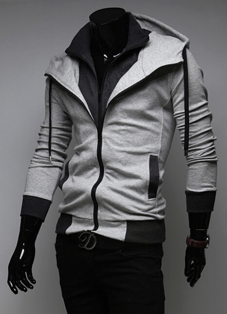 Assassin Double Layer Zip Hoodie - Hoodies - eDealRetail - 9