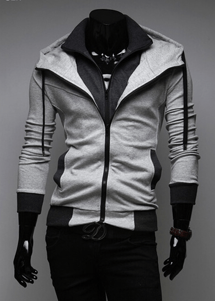 Assassin Double Layer Zip Hoodie - Hoodies - eDealRetail - 10