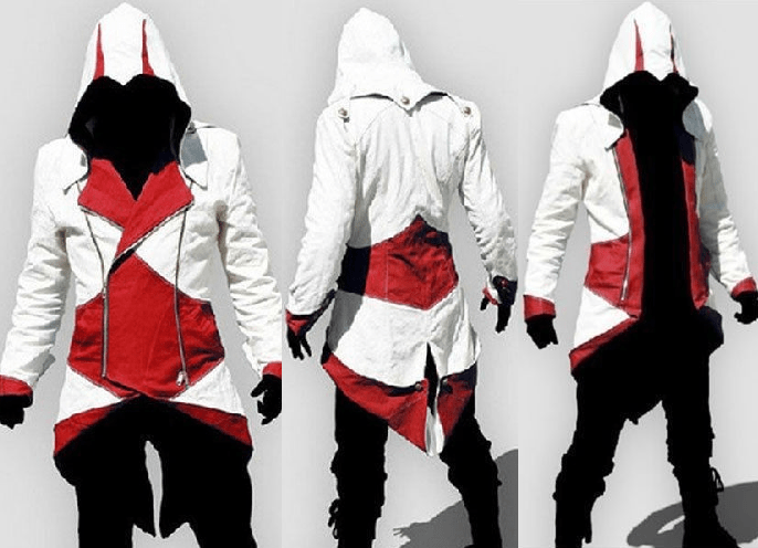 Assassins Creed Jacket Costume - Coat Jacket - eDealRetail - 1