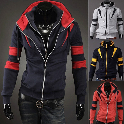 Assassin Double Zipper Hoodie - Hoodies - eDealRetail - 1