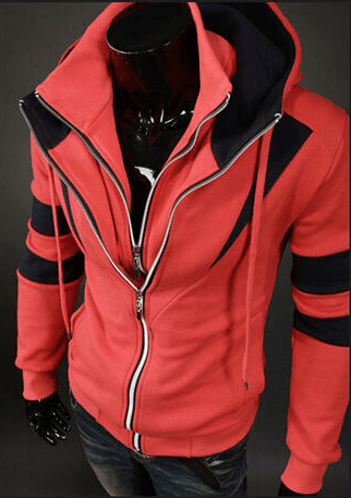 Assassin Double Zipper Hoodie - Hoodies - eDealRetail - 12