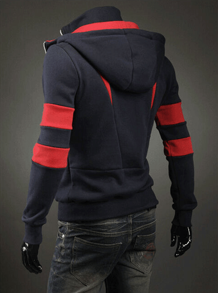 Assassin Double Zipper Hoodie - Hoodies - eDealRetail - 11