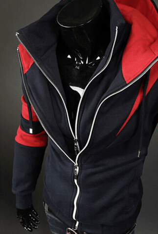 Assassin Double Zipper Hoodie - Hoodies - eDealRetail - 10