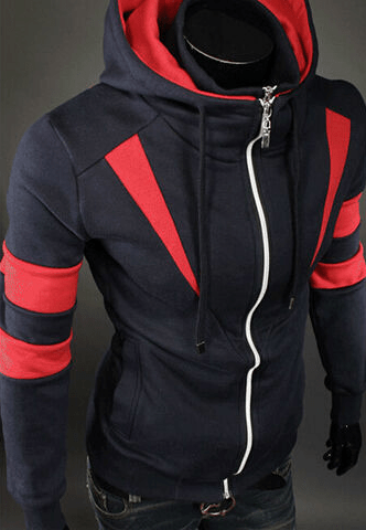 Assassin Double Zipper Hoodie - Hoodies - eDealRetail - 9