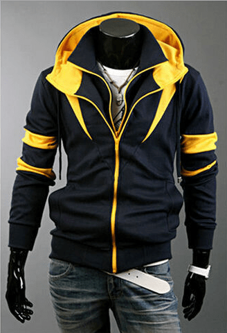 Assassin Double Zipper Hoodie - Hoodies - eDealRetail - 2
