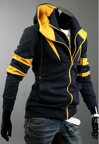 Assassin Double Zipper Hoodie - Hoodies - eDealRetail - 3