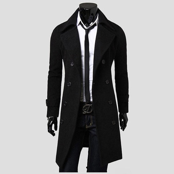 Men's Trench Coat - Coat Jacket - eDealRetail - 2