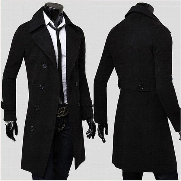 Men's Trench Coat - Coat Jacket - eDealRetail - 5