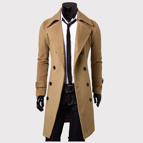 Men's Trench Coat - Coat Jacket - eDealRetail - 3
