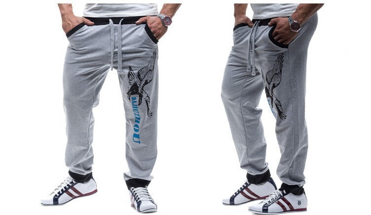 Casual Eagle Jogging Trousers - Stylish Pants - eDealRetail - 2
