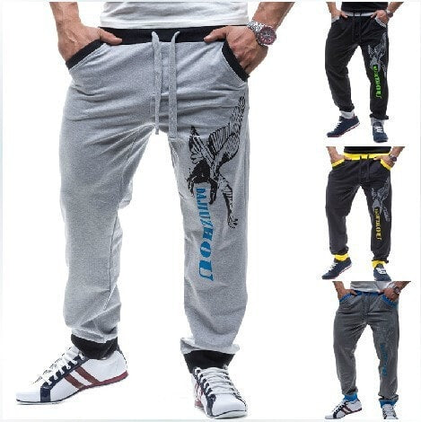 Casual Eagle Jogging Trousers - Stylish Pants - eDealRetail - 1
