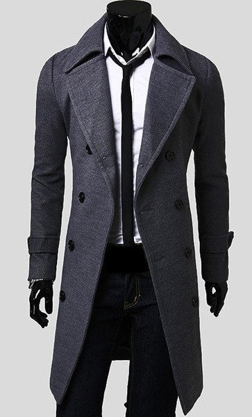 Men's Trench Coat - Coat Jacket - eDealRetail - 4