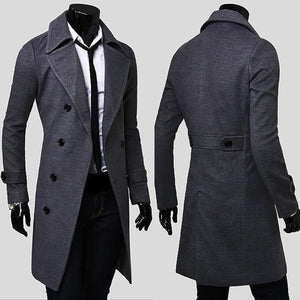 Men's Trench Coat - Coat Jacket - eDealRetail - 6