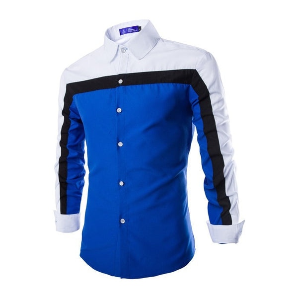 2016 Long Sleeve Casual European Style Shirts - Casual Shirts - eDealRetail - 2