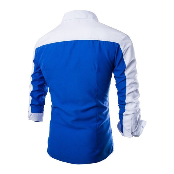 2016 Long Sleeve Casual European Style Shirts - Casual Shirts - eDealRetail - 7