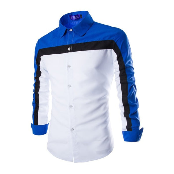 2016 Long Sleeve Casual European Style Shirts - Casual Shirts - eDealRetail - 4