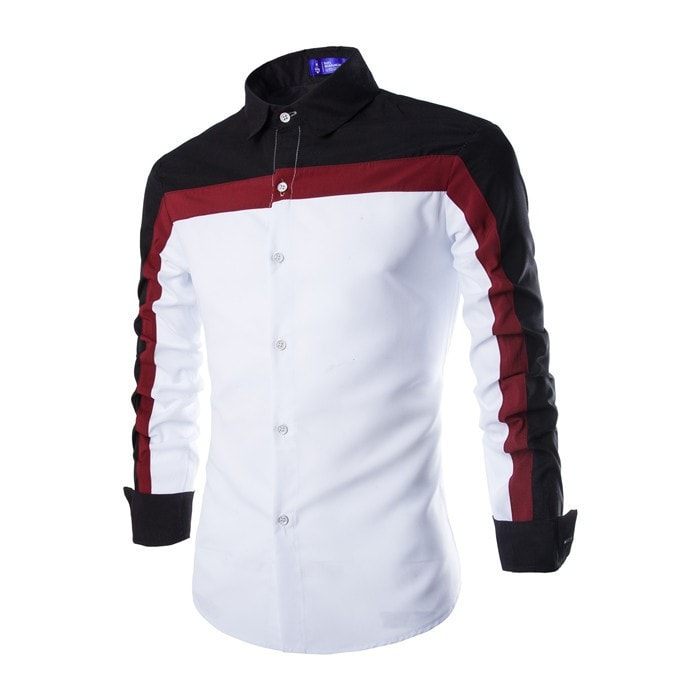 2016 Long Sleeve Casual European Style Shirts - Casual Shirts - eDealRetail - 5