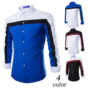 2016 Long Sleeve Casual European Style Shirts - Casual Shirts - eDealRetail - 1